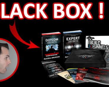 blackbox funnel hacker russell brunson unboxing