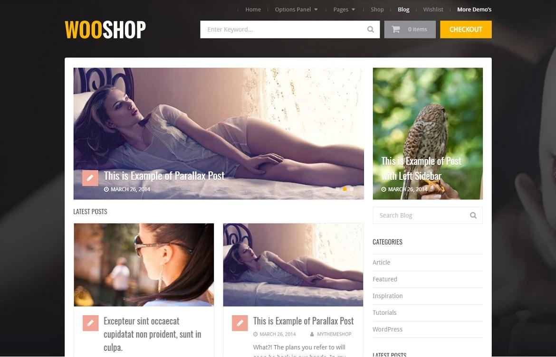 whooshop professionnel ecommerce thème par mythemeshop