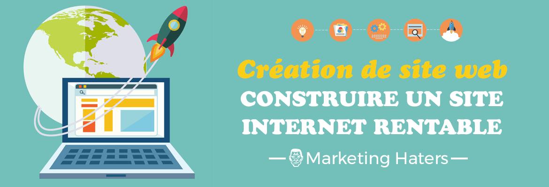 créer un blog et un site web internet