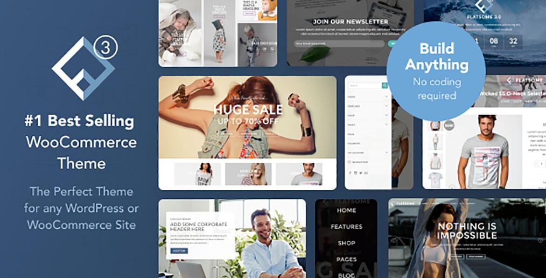 créer site e-commerce avec le thème flatsome