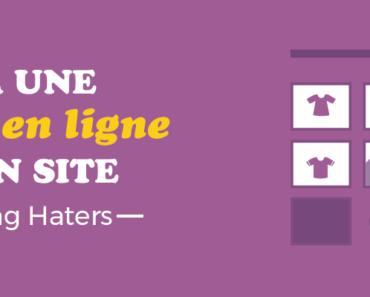 créer une boutique ne ligne sur son site