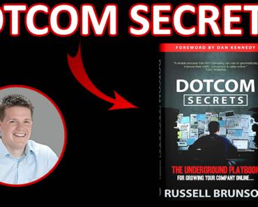 Dotcom Secrets Book par Russell Brunson de Clickfunnels : les secrets d'internet