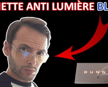 Unboxing Gunnar Sheadog Mercury : lunette anti lumière bleue pour écran d'ordinateur