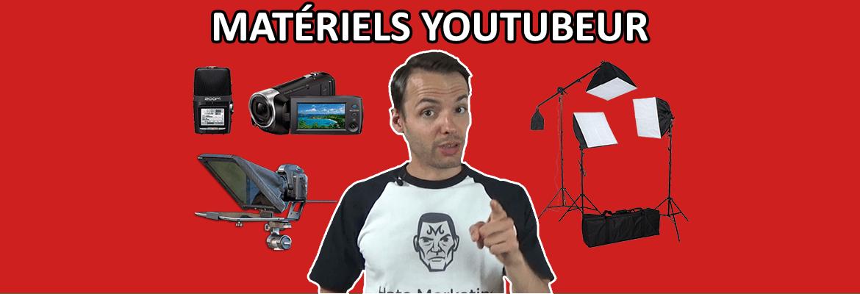 Caméra, micro pour vidéo YouTube : matériel de YouTubeur pour chaîne à l'allure professionnelle