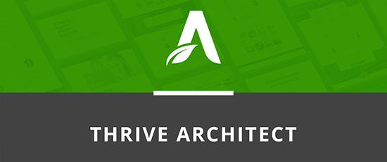 plugin thrive architect thrivethemes