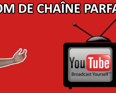 trouver le bon nom de chaîne YouTube