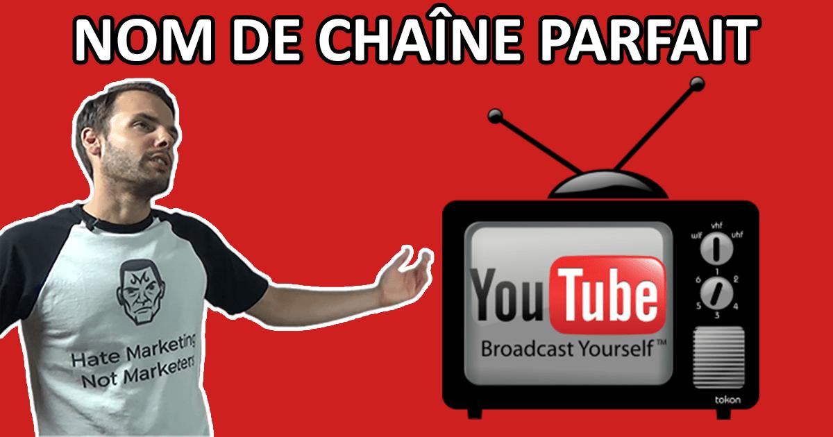 Sa Le Chaîne Nom Pour Parfait Étapes Youtube4 Clés Trouver OPZukiTX
