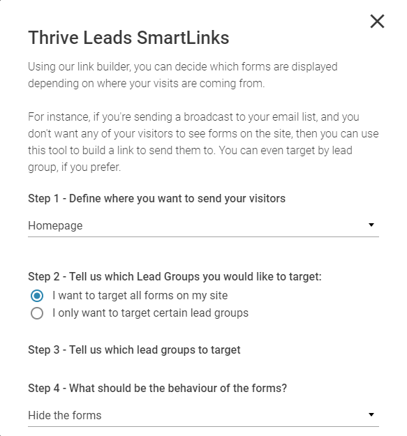 smartlinks thrive leads