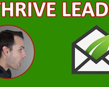 Thrive Leads par Thrive Themes : le meilleur plugin WorPress pour créer des popup qui convertissent