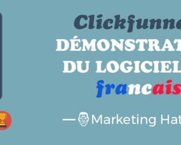 démo du logiciel clickfunnels en français