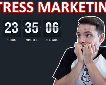 STRESS MARKETING : 6 techniques marketing pour augmenter le taux de conversion d'une page de vente