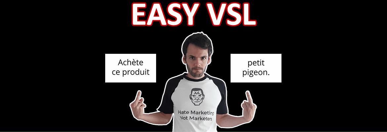 test et avis EasyVSL : meilleur logiciel de réalisation de vidéo de vente marketing