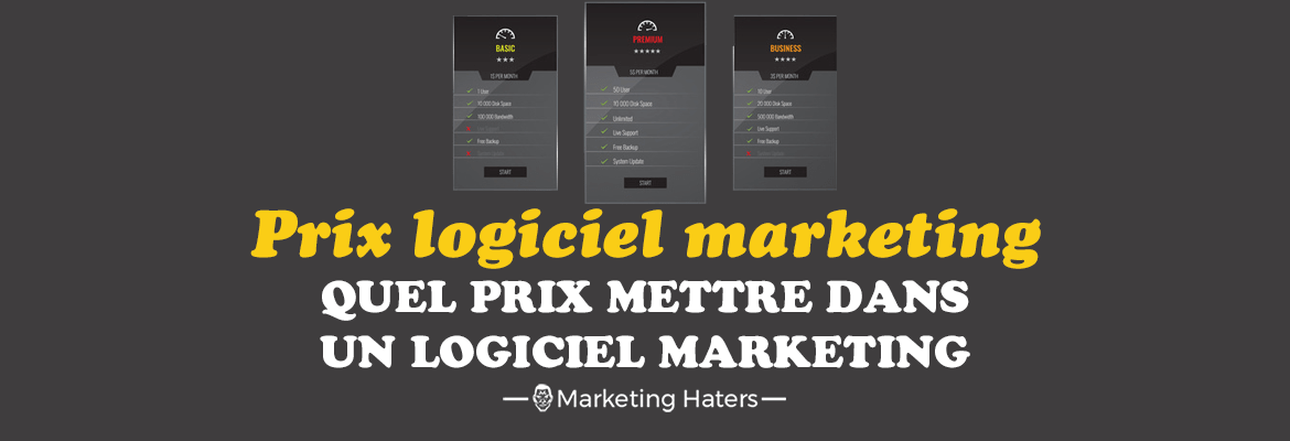 prix tarif logiciel marketing