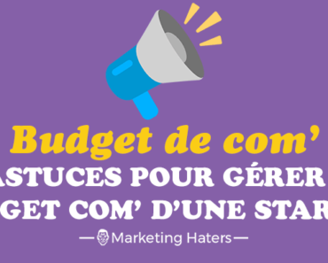budget de communication d'un startup