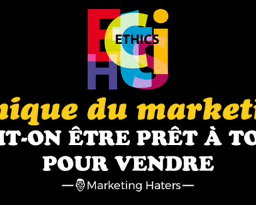 éthique du marketing