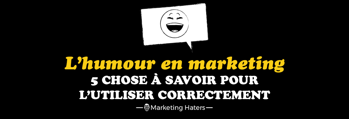 humour en marketing