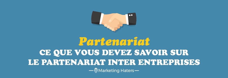 partenariat inter entreprises : partenariat entre deux entreprises