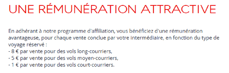 air france affiliation