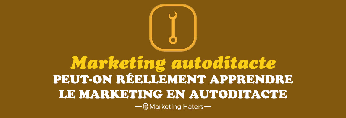 apprendre le marketing en autodidacte