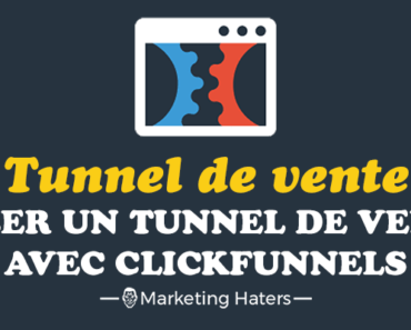 créer un tunnel de vente avec Clickfunnels
