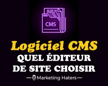 logiciel cms éditeur de site