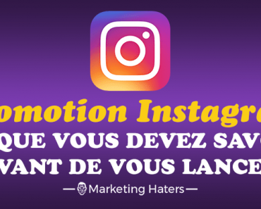 promotion sur instagram