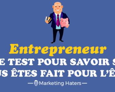 être entrepreneur