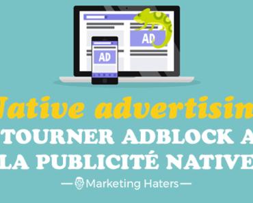 publicité native advertising