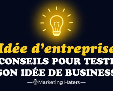 tester son idée d'entreprise business